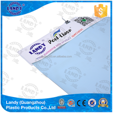 Private pool tarpaulin anti-UV liner for swimming pools
