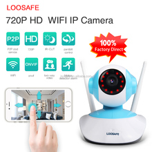 High quality Infrared Network 720P Surveillance Indoor PTZ Security Detection Wireless Wifi CCTV IP Camera System