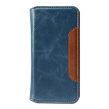 2017 New Fashionable filp Pu leather phone case for iphone 7