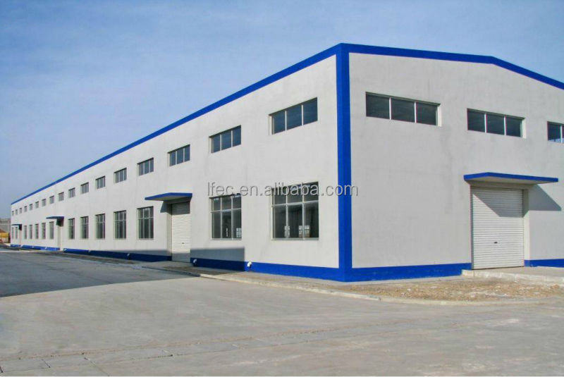 Corrugated Light Steel Frame Sandwich Panels Used for Workshop