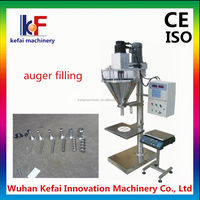 kefai auger toner filling machine to fill toner powder into empty cartridges and bottle