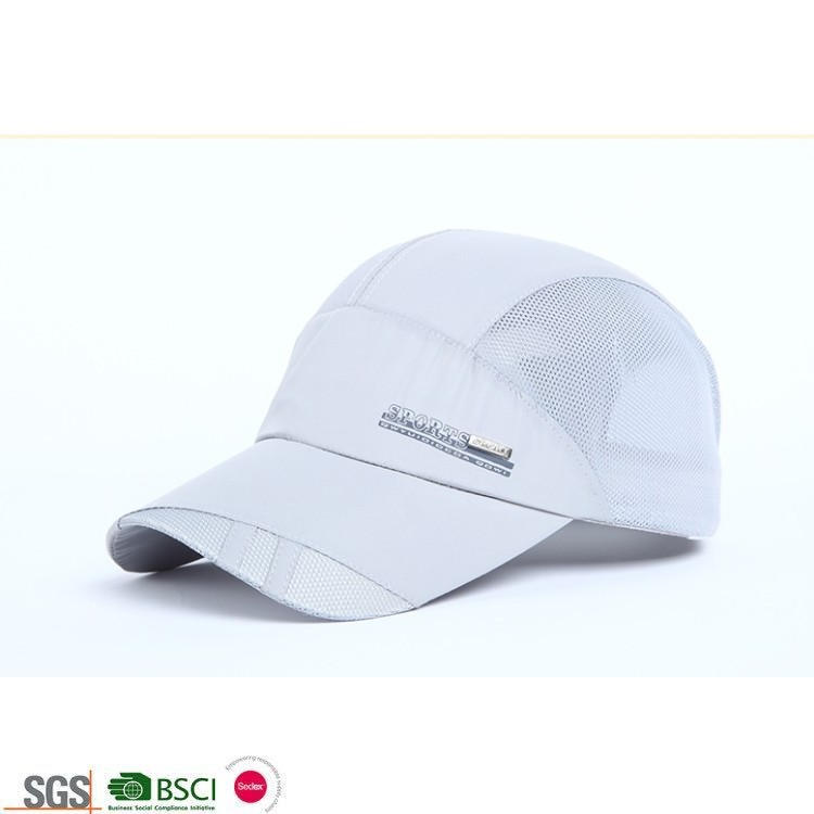 100% Polyester High Quality Quick Dry Sports Cap Running <strong>Hats</strong>