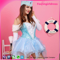 Wholesale Cheap Nude Hot Image Sexy French Latex French Maid Costume