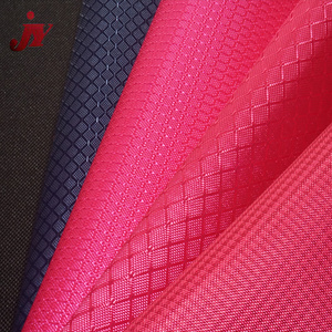 JINYI Manufacturer 600D PVC Coated 100% Polyester Woven Jacquard Fabric for Sport Bags