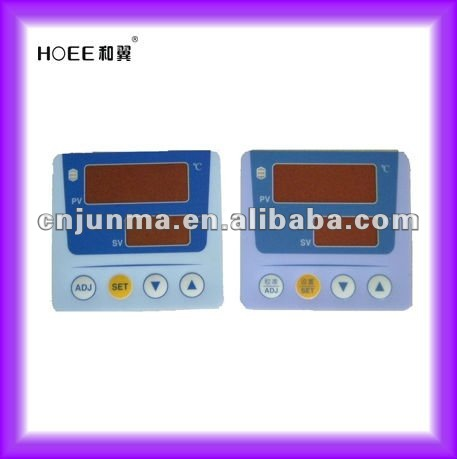 tinted LCD window plastic control nameplate