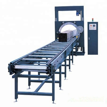 Automatic Film Hold&Cutter Furniture Spiral Horizontal Wrapping Machine