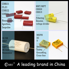 [China supplier] polyester film capacitor 0.47uf 63v bo condenser