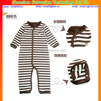 Hot Sale Factory 100% Cotton Plain Baby Bodysuit Baby romper