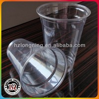 Disposable Plastic 350ML 12oz PP Juice Cup