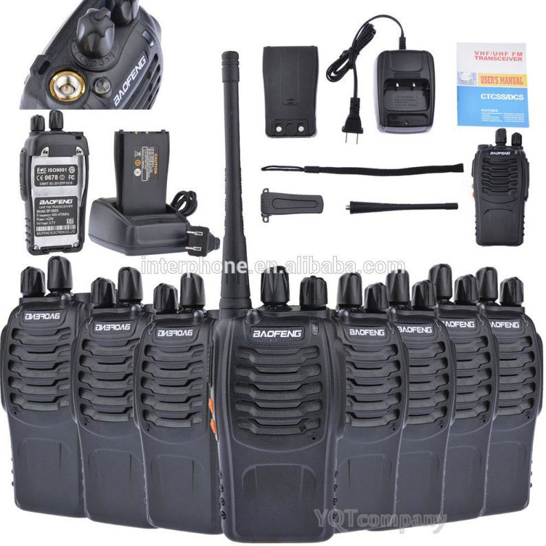 High quality handheld vox walkie-talkie BAOFENG BF-888S
