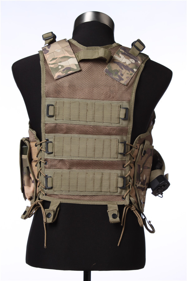 600D Tactical Marine Uniform With Pistol Holster For Police Or Airsoft