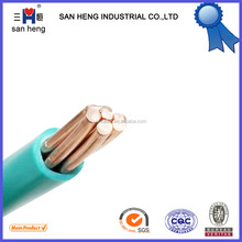 Single Core PVC Insulated Copper Insulated Electric Wire for Turkish Cable