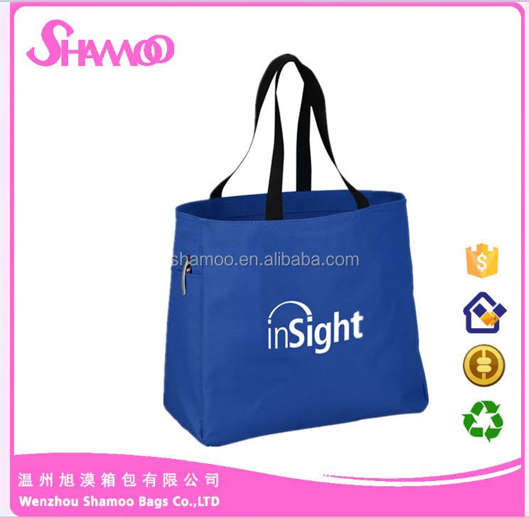 top quality polyester shopping foldable bag