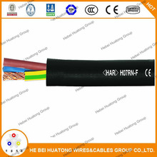 High quality rubber insulated and jacketed flexible cable YZ 16mm2