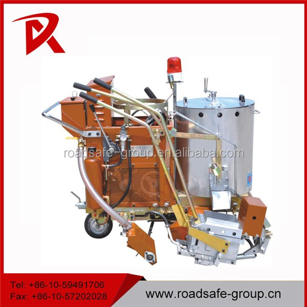 Used thermoplastic road marking machine for
