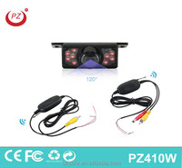 2.4g wireless car reversing rearview backup system car camera
