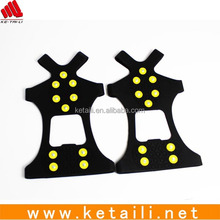 High quality silicone ice walkers for shoes .safety snow grabbers
