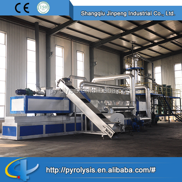 Pyrolysis Oil Distillation Plant Waste Tyre Oil Extraction Machine