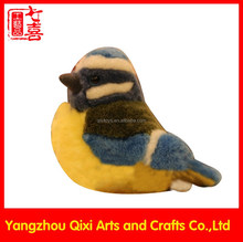 Wholesale love bird stuffed plush bird cute soft bird toy
