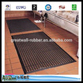 Great Wall Black Brown Color Anti fatigue anti slip garage Rubber floor Mats/rubber floor paint