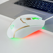 7 color breathing led light usb rohs gaming mouse for retro game G700