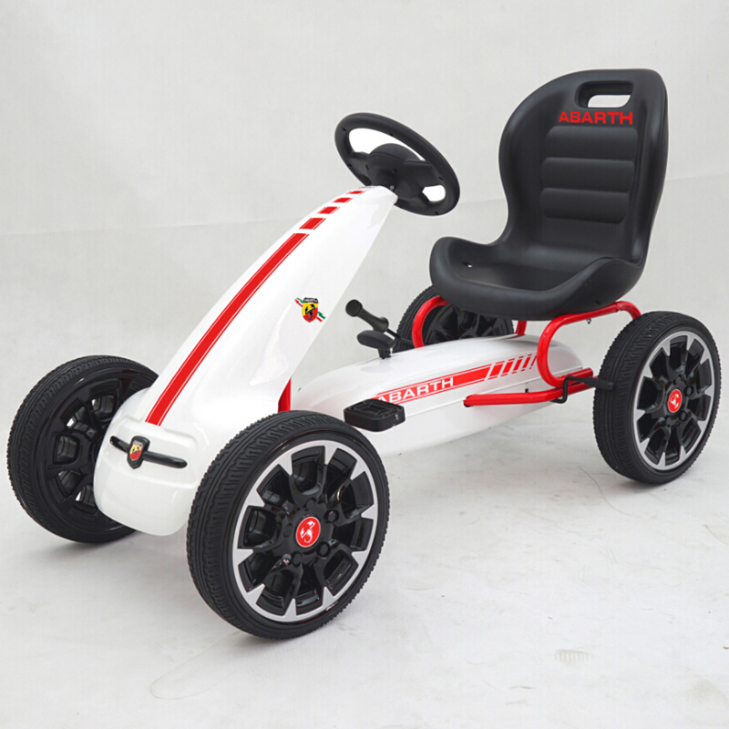 2017 Newest ABARTH Licensed children pedal go cart toy cars for sale