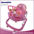 Plastic inflatable baby walker,pusher baby walker,baby pram with 8 wheels 7051