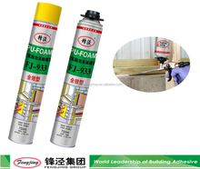 Chemical products polyurethane foam spray price