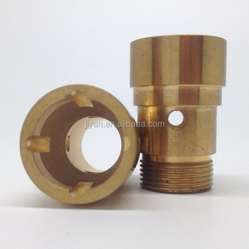 OEM cnc brass lathe turning machine parts custom silver plating