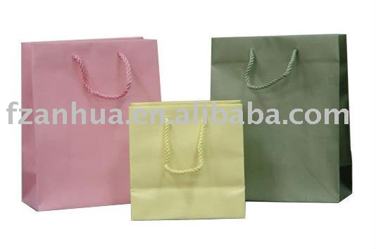 Full Color Luxury Paper Shopping bag
