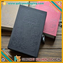 Custom A4 A5 A6 Diary Notebook With Key For Girl