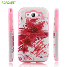double bulk shock absorber cell phone case for samsung i9080