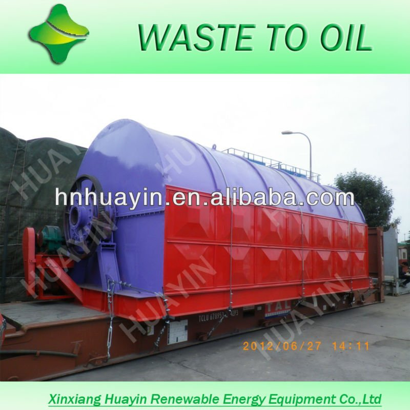 Recycle Engine Oil Machine And Waste Tire Dispose Plant