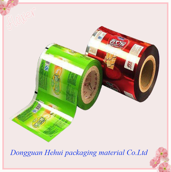 vivid costom printed film in roll