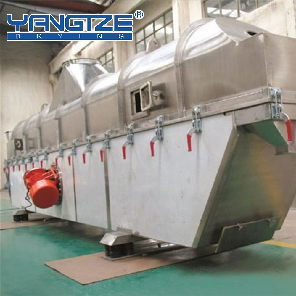 GZQ 6-6 coconut vibrating fluid bed dryer