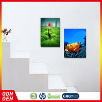 flower wall painting canvas frameless wall picture