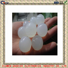 Clear custom small silicone rubber bouncing sress ball