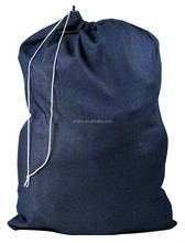 reusable nylon drawstring laundry bag