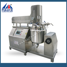 CE certification 100L Lab Vacuum Emulsifying Mixer With Homogenizer Heating for Lotion Paste Ointment