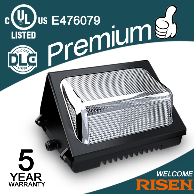 5 Years Warranty Photocell Led Wall Pack Light