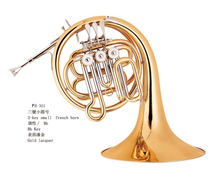 musical instruments toy french horn for china