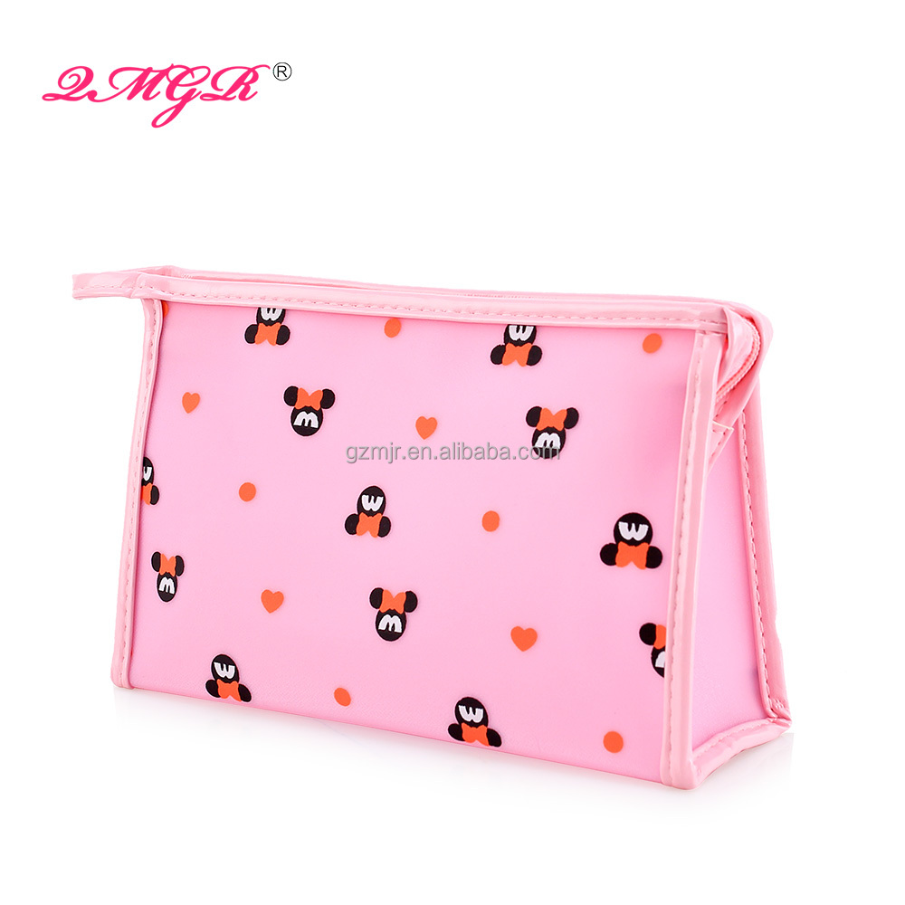China Supply Lovely Mickey Mouse Cartoon Cosmetic bags,bag clear,bag cosmetic