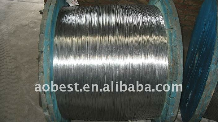 Galvanized metal wire /bare conductor