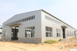Nice Designed Made Infireproof log residential used warehouse steel buildings for sale steel structure