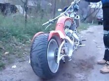 Scorpion 200cc Chopper lifan