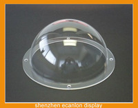Fast Delivery acrylic large plastic hemisphere dome with flange