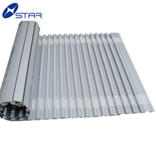 Kitchen cabinet roll up doors aluminum roller shutter control