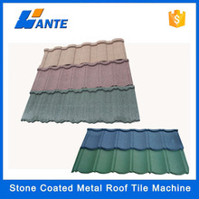 High quality aluminum zinc plate colorful stone coated metal roofing tile, China kerala stone coated metal roof tile