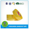 Opp clear packing tape with yellowish used for carton pack