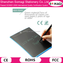 2016 Light Boogie Board - 8.5 Inch Magnetic and Graphic LCD Writing Tablet for Kids Drawing As Christmas Gifts
